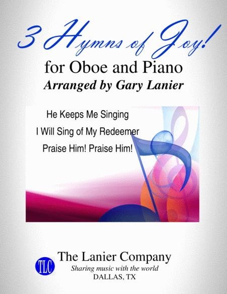 3 Hymns Of Joy For Oboe And Piano With Score Parts