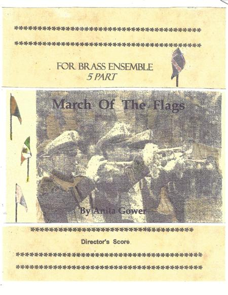 5 Pt Brass March Of The Flags