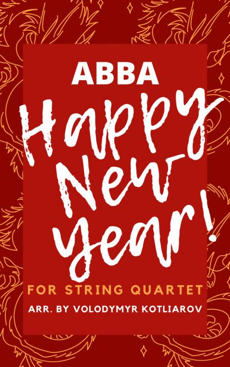 Abba Happy New Year For String Quartet