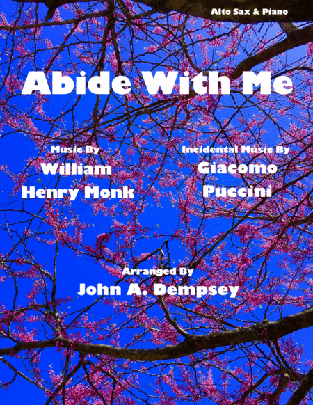 Abide With Me Alto Sax And Piano