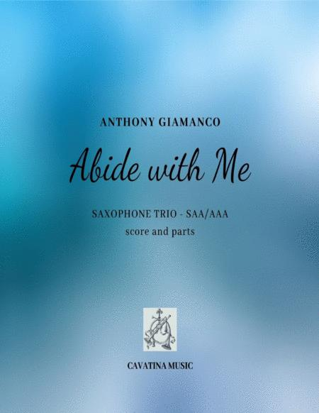 Abide With Me Saxophone Trio