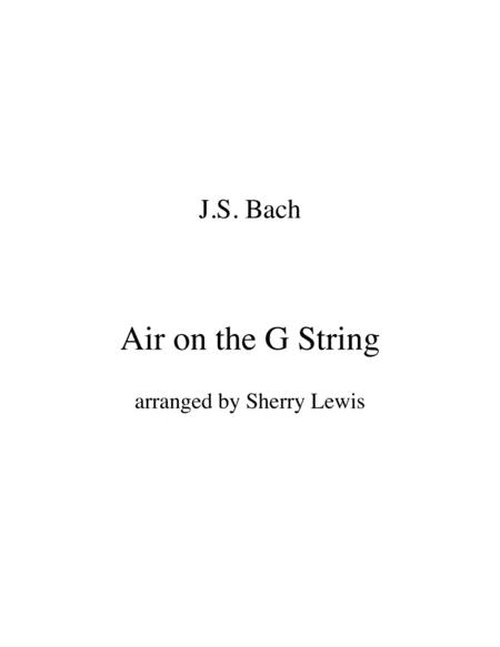 Air On The G String Trio For String Trio Woodwind Trio Any Combination Of Two Treble Clef Instruments And One Bass Clef Instrument Concert Pitch