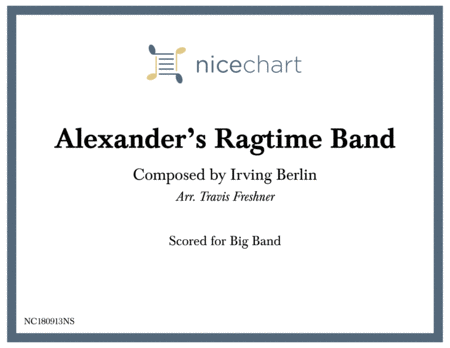 Alexanders Ragtime Band Score Parts