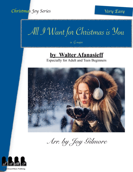 All I Want For Christmas Is You Christmas Joy Series Includes 5 Different Arrangements Especially For Adult Beginners