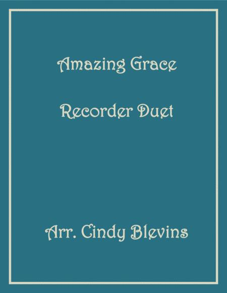 Amazing Grace Recorder Duet