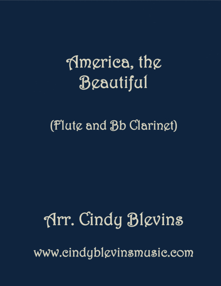 America The Beautiful Arranged For Flute And Clarinet Duet