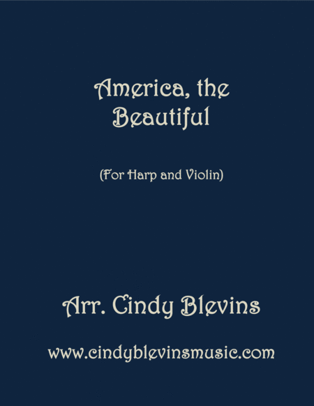 America The Beautiful Arranged For Harp And Violin