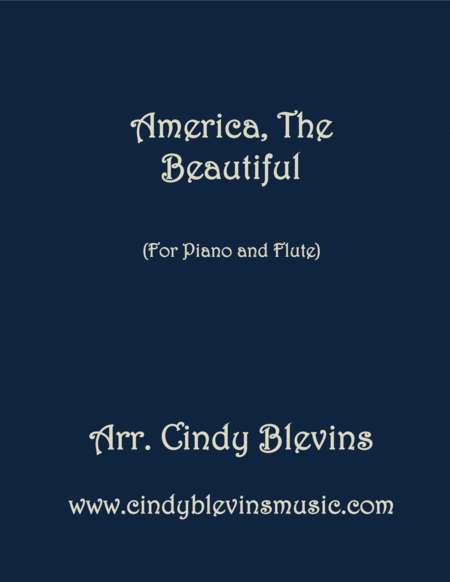 America The Beautiful Arranged For Piano And Flute