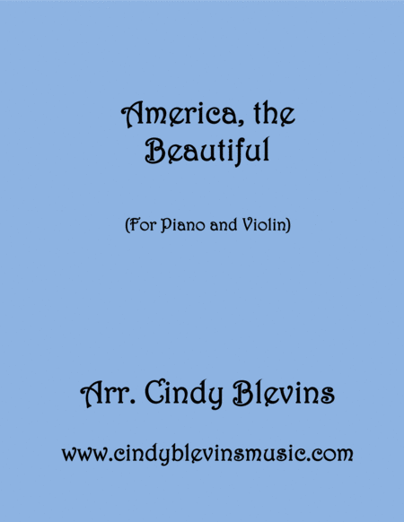 America The Beautiful Arranged For Piano And Violin