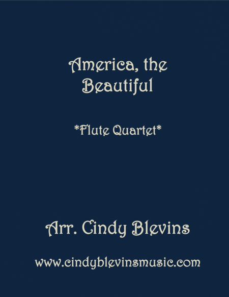 America The Beautiful For Flute Quartet