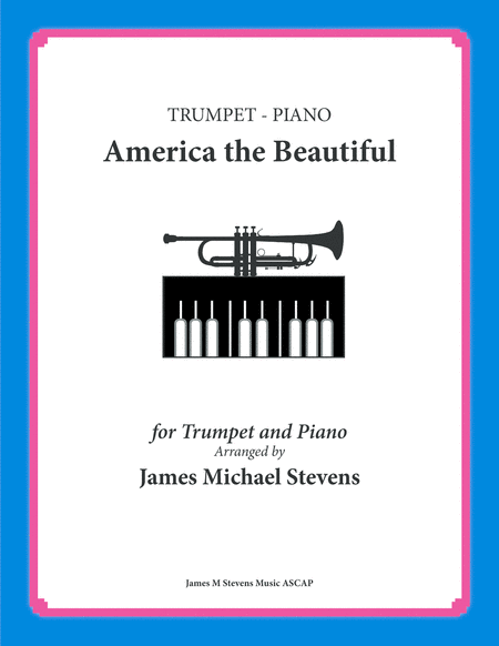 America The Beautiful Trumpet And Piano