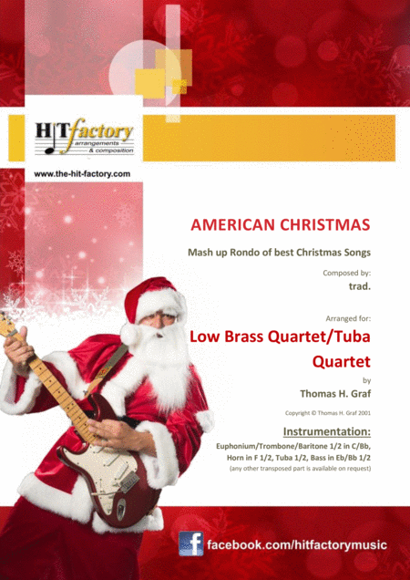 American Christmas Mash Up Rondo Of Best Christmas Songs Low Brass Quartet Tuba Quartet
