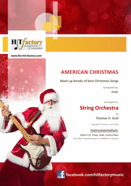 American Christmas Mash Up Rondo Of Best Christmas Songs String Orchestra