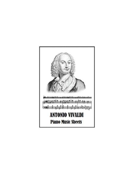 Antonio Vivaldi Piano Music Sheets
