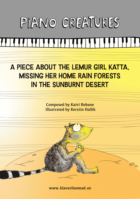 A Piece About The Lemur Girl Katta Missing Her Home Rain Forests In The Sunburnt Desert