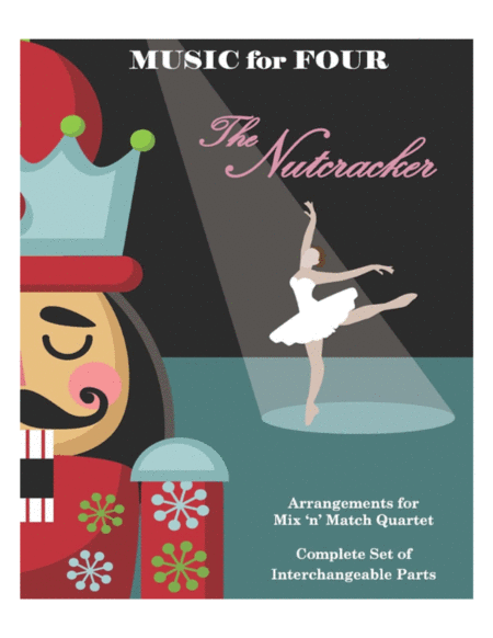 Arab Dance From The Nutcracker For Wind Quartet Mixed Quartet Double Reed Quartet Or Clarinet Quartet