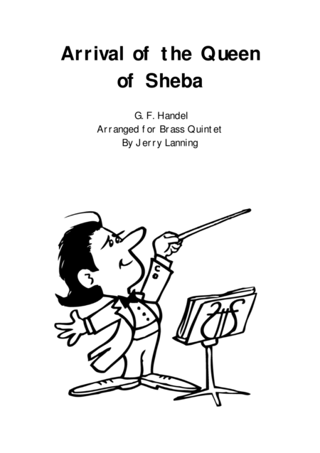 Arrival Of The Queen Of Sheba Brass Quintet