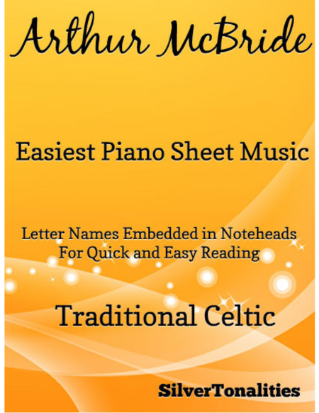 Arthur Mcbride Easiest Piano Sheet Music