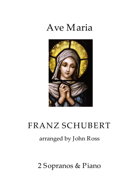 Ave Maria Schubert Vocal Duet