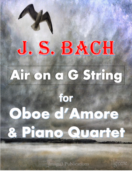 Bach Air On A G String For Oboe D Amore Piano Quartet