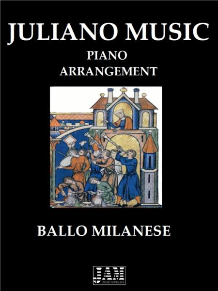 Ballo Milanese Easy Piano Arrangement Anonymous