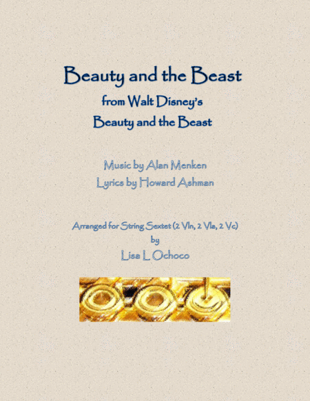 Beauty And The Beast From Walt Disneys Beauty And The Beast For String Ensemble