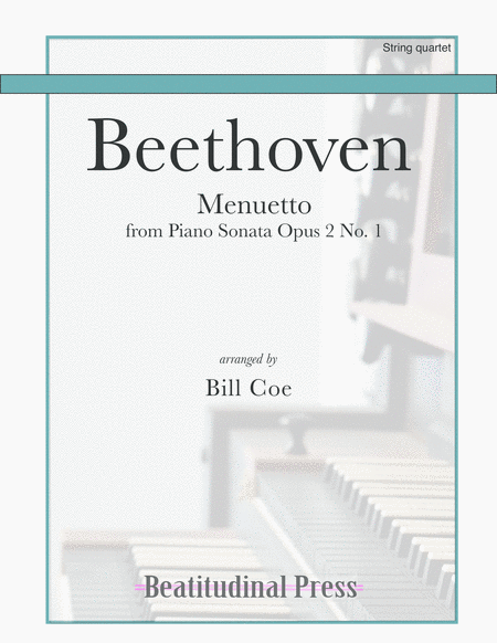 Beethoven Menuetto String Quartet Score And Parts