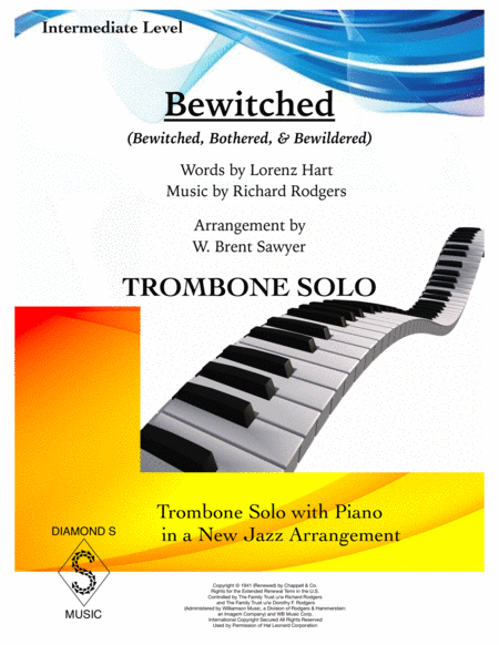Bewitched Trombone Solo With Piano