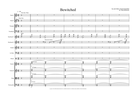 Bewitched Tv Theme For Studio Band Or Small Pops Orchestra