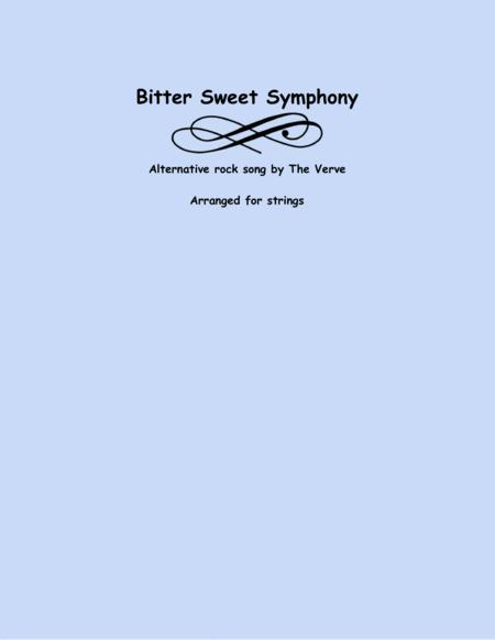 Bittersweet Symphony Two Violins And Cello
