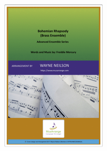 Bohemian Rhapsody For Brass Ensemble Advanced Ensemble Series