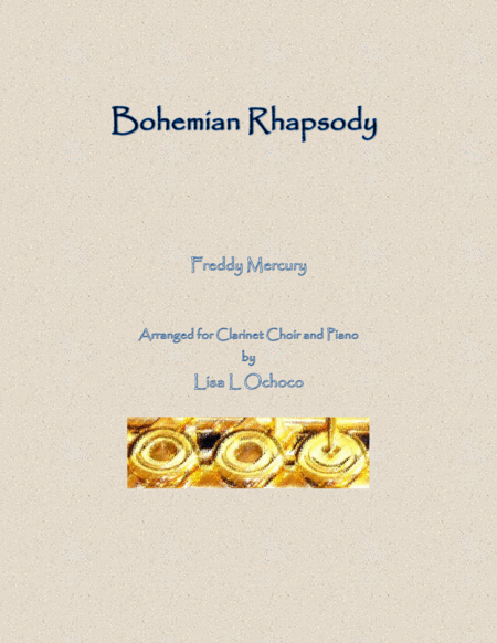 Bohemian Rhapsody For Clarinet Choir And Piano