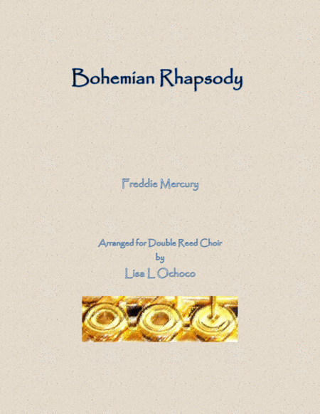 Bohemian Rhapsody For Double Reed Choir