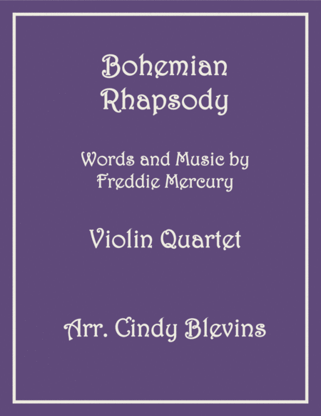 Bohemian Rhapsody For Violin Quartet