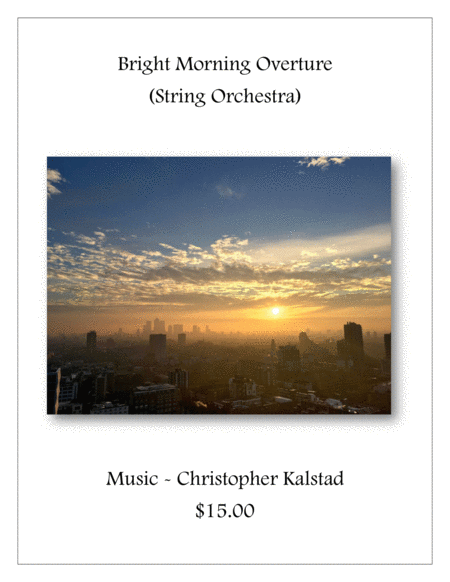 Bright Morning Overture String Orchestra