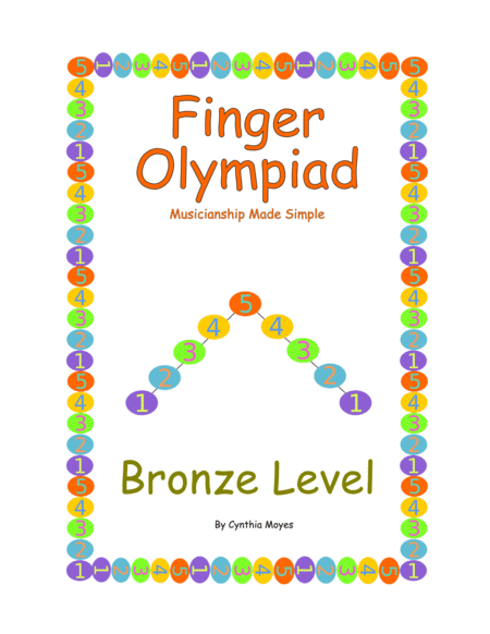 Bronze Finger Olympiad Beginning Piano