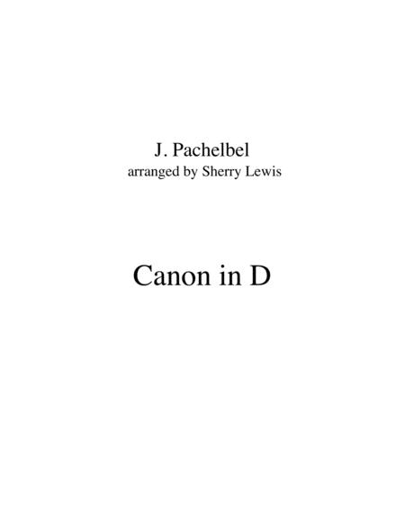Canon In D Duo For String Duo Woodwind Duo Any Combination Of A Treble Clef Instrument And A Bass Clef Instrument Concert Pitch