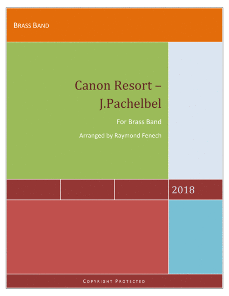 Canon Resort J Pachelbel Brass Band Intermediate Advanced Intermediate Level