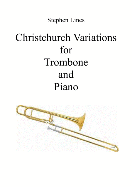 Christchurch Variations For Trombone And Piano