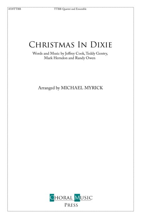 Christmas In Dixie Ttbb