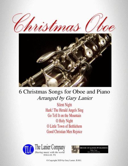 Christmas Oboe 6 Christmas Songs For Oboe Piano With Score Parts