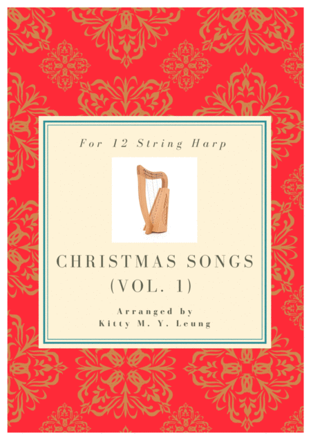 Christmas Songs Volume 1 12 String Harp