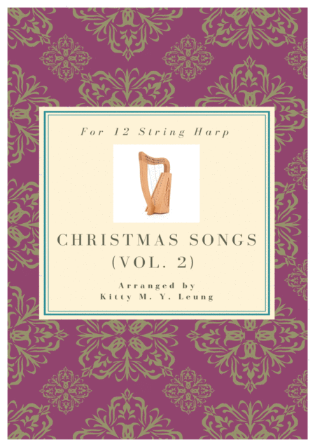 Christmas Songs Volume 2 12 String Harp