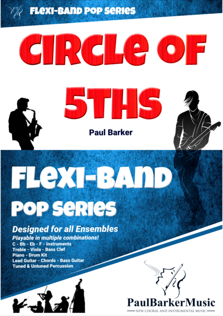 Circle Of 5ths Flexi Band Score And Parts