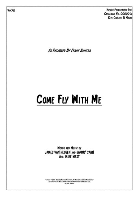 Come Fly With Me Vocals