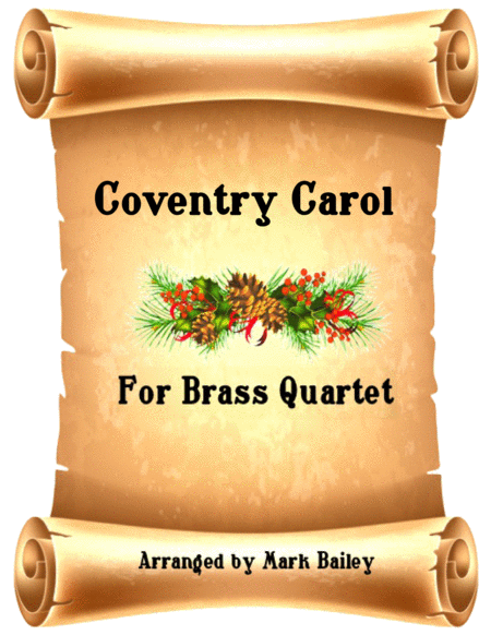Coventry Carol Forbrass Quartet