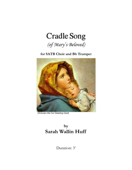 Cradle Song Of Marys Beloved