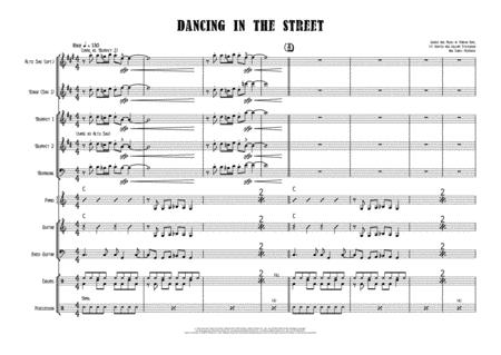 Dancing In The Street Female Vocal With Small Band 3 5 Horns Key Of C
