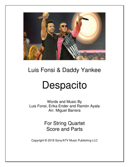 Despacito String Quartet Luis Fonsi Daddy Yankee