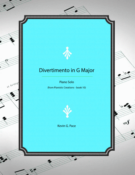 Divertimento In G Major Piano Solo